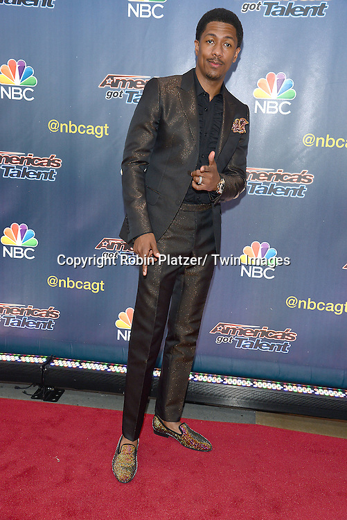 "Nick Cannon attends the kick off  of Season 9's live voting rounds of ""America's Got Talent""  at Radio City Music Hall on July 29, 2014 in New York City."