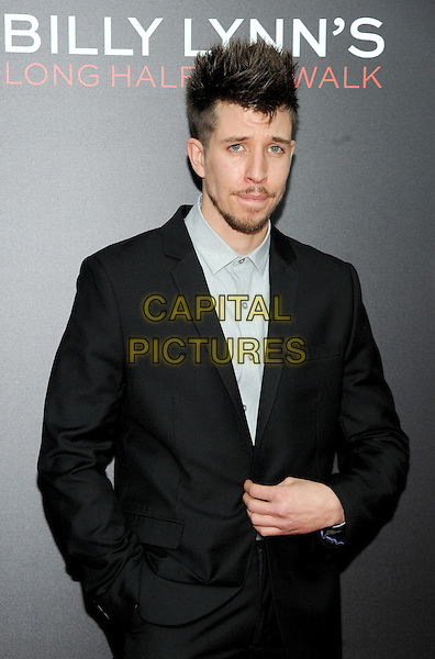 NEW YORK, NY - OCTOBER 14:  Beau Knapp attends the 54th New York Film Festival 'Billy Lynn's Long Halftime Walk' screening at AMC Lincoln Square Theater on October 14, 2016 in New York City. <br /> CAP/MPI/JP<br /> &copy;JP/MPI/Capital Pictures