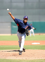Chris Archer / Cleveland Indians 2008 Instructional League..Photo by:  Bill Mitchell/Four Seam Images
