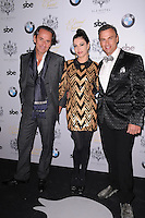 MIAMI, FL - NOVEMBER 08: Frederick Mark, Adriana De Moura and Jonathan Yaskoff  arrives at Grand Opening of SLS Hotel South Beach at SLS South Beach on November 8, 2012 in Miami, Florida. © MPI10/MediaPunch Inc /NortePhoto