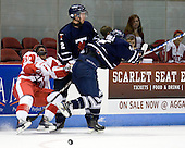 Sahir Gill (BU - 28), Tyler Turcotte (Toronto - 2), Kyle Ventura (Toronto - 14) - The Boston University Terriers defeated the visiting University of Toronto Varsity Blues 9-3 on Saturday, October 2, 2010, at Agganis Arena in Boston, MA.