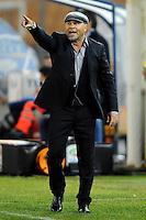 """Serse COSMI Allenatore Lecce.Lecce 10/12/2011 Stadio """"Via del MAre"""".Football Calcio Serie A 2011/2012.Lecce Vs Lazio.Foto Insidefoto ."""