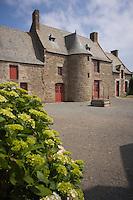 """Europe/France/Bretagne/35/Ille et Vilaine/Saint-Malo/Rothéneuf: Musée-Manoir de Jacques Cartier """"Limolêou"""""""