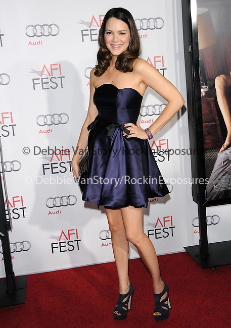 Jacinda Barrett attends the AFI Fest 2010 Opening Gala - Love & Other Drugs World Premiere held at The Grauman's Chinese Theatre in Hollywood, California on November 04,2010                                                                               © 2010 Hollywood Press Agency