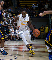 Jabari Bird of California in action during the game against Coppin State at Haas Pavilion in Berkeley, California on November 8th, 2013.    California defeated Coppin State, 83-64.