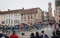 race start in Brugge<br /> <br /> 43rd Driedaagse Brugge-De Panne 2019 <br /> One day race (1.UWT) from Brugge to De Panne BEL (200km)<br /> <br /> ©kramon