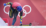 Vladyslav Heraskevych (UKR). Skeleton training. Alpensia sliding centrePyeongchang2018 winter Olympics. Alpensia. Republic of Korea. 13/02/2018. ~ MANDATORY CREDIT Garry Bowden/SIPPA - NO UNAUTHORISED USE - +44 7837 394578