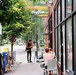 Stumptown Coffee's original location on SE Division Street in Portland, Oregon