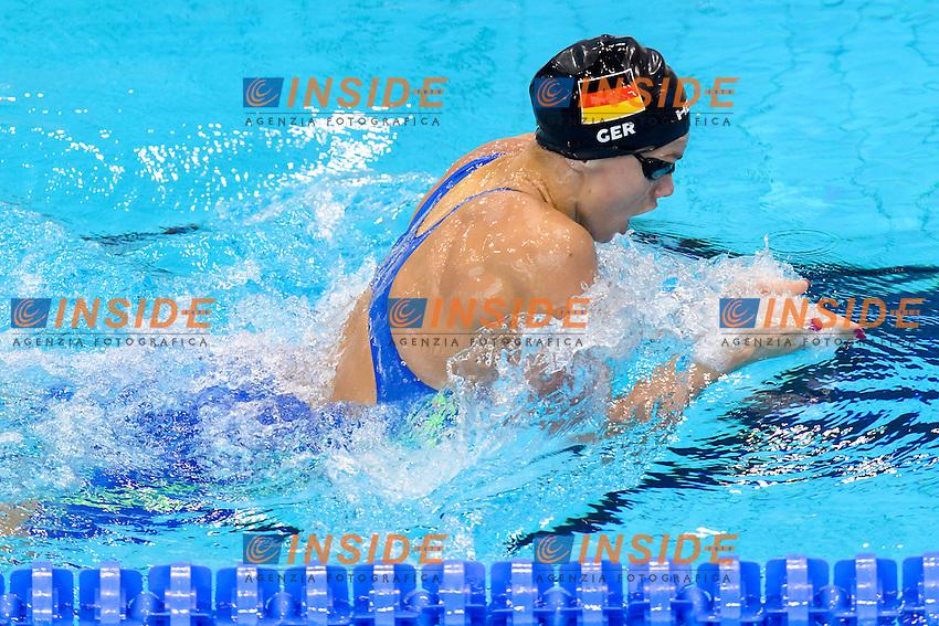 Jessica STEIGER GER<br /> 200m Medley Women Preliminary <br /> London, Queen Elizabeth II Olympic Park Pool <br /> LEN 2016 European Aquatics Elite Championships <br /> Swimming<br /> Day 10 18-05-2016<br /> Photo Andrea Staccioli/Deepbluemedia/Insidefoto