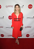 """LOS ANGELES, CA - NOVEMBER 7: Kelley Jakle, at Premiere of Lifetime's """"Christmas Harmony"""" at Harmony Gold Theatre in Los Angeles, California on November 7, 2018. Credit: Faye Sadou/MediaPunch"""
