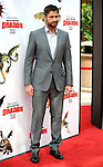 UNIVERSAL CITY, CA. - March 21: Gerard Butler arrives at the premiere of ''How To Train Your Dragon'' at Gibson Amphitheater on March 21, 2010 in Universal City, California.
