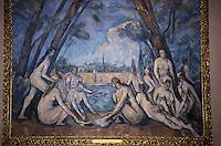 """Amérique/Amérique du Nord/USA/Etats-Unis/Vallée du Delaware/Pennsylvanie/Philadelphie : Philadelphia Museum of Art - """"Les Grandes Baigneuses"""" de Cézanne 1898-1905"""