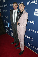 13 April 2018 - Beverly Hills, California - Gus Kenworthy, Adam Rippon. 29th Annual GLAAD Media Awards at The Beverly Hilton Hotel. Photo Credit: F. Sadou/AdMedia