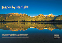 PRODUCT: MAgazine<br /> TITLE: Jasper By Starlight<br /> CLIENT: Canadian Geographic
