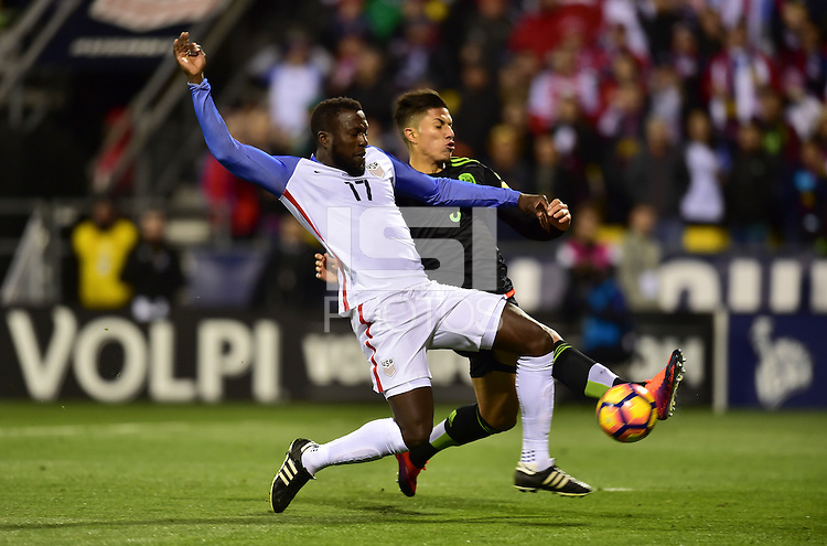 Columbus, OH - November 11, 2016: The U.S. Men's National team goes down 0-1 to Mexico during their Hexagonal World Cup Qualifier match at MAPFRE Stadium.