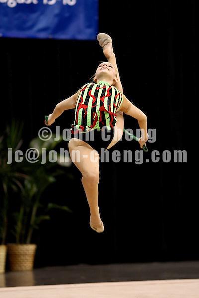 Photo by John Cheng - VISA Championships 2007 in San Jose, CA.RhythmicsDaniels