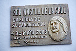 Memorial to the canonisation of Sister Angela de la Cruz 4 May 2003- María de los Ángeles Guerrero González,  Ronda, Spain