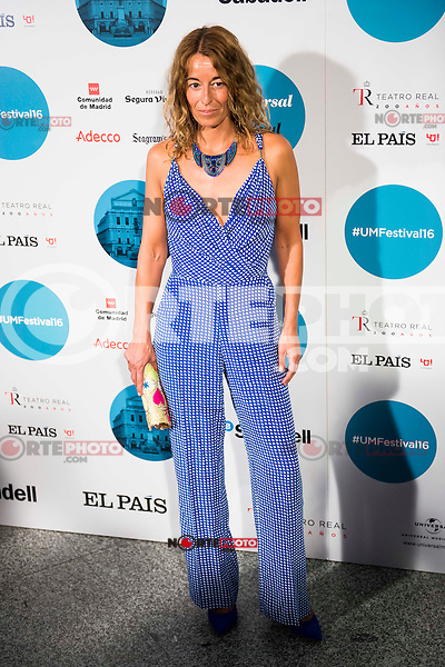 Monica Martin Luque attends to the photocall of the Rod Stewart concert at Teatro Real in Madrid. July 05. 2016. (ALTERPHOTOS/Borja B.Hojas)
