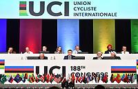 UCI Congress - 27 Sept 2019