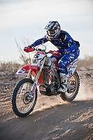 1st place motorcycle finisher Colton Udall at mile 30, 2011 San Felipe Baja 250