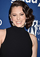 BEVERLY HILLS, CA - APRIL 12: Actress Rachel Bloom attends the 29th Annual GLAAD Media Awards at The Beverly Hilton Hotel on April 12, 2018 in Beverly Hills, California.<br /> CAP/ROT/TM<br /> &copy;TM/ROT/Capital Pictures