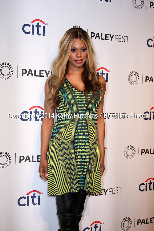 """LOS ANGELES - MAR 14:  Laverne Cox at the PaleyFEST - """"Orange is the New Black"""" at Dolby Theater on March 14, 2014 in Los Angeles, CA"""