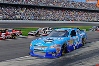 Tony Stewart (#33) comes in for a pit stop.