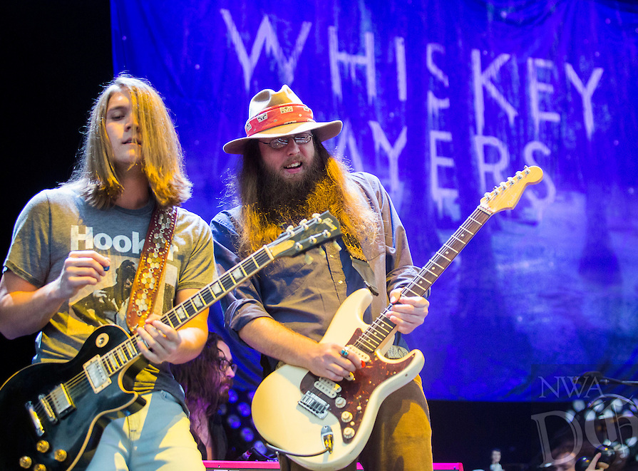 NWA Democrat-Gazette/JASON IVESTER<br /> Carnival of Madness Tour concert at the Arkansas Music Pavilion on Tuesday, July 26, 2016, in Rogers featuring Whiskey Myers, Black Stone Cherry, Halestorm and Shinedown