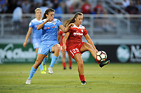 Boyds, MD - Saturday August 26, 2017: Sofia Huerta, Meggie Dougherty Howard during a regular season National Women's Soccer League (NWSL) match between the Washington Spirit and the Chicago Red Stars at Maureen Hendricks Field, Maryland SoccerPlex.