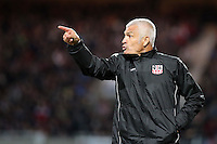 Fabrizio Ravanelli coach (AC Ajaccio) <br /> Football Calcio 2013/2014<br /> Ligue 1 Francia<br /> Foto Panoramic / Insidefoto <br /> ITALY ONLY