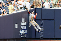 08/09/10 Bronx, Boston Red Sox left fielder Ryan Kalish #55 during an MLB game between the New York Yankees and the Boston Red Sox played at Yankee Stadium where the Red Sox defeated the Yankees 2-1.