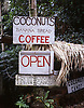 "Handpainted signs at a family-run stand along the ""Road to Hana"" on Maui, Hawaii. Photo by Kevin J. Miyazaki/Redux"