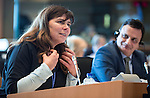 BRUSSELS - BELGIUM - 23 February 2016 -- Exchange of views with Agencies ETF, OSHA, EUROFOUND, CEDEFOP and the Committee on Employment and Social Affairs of the European Parliament. -- MEP J. Steinruck and MEP A. Kozlowska-Rajewicz. -- PHOTO: Juha ROININEN / EUP-IMAGES