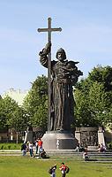 Prinz Vladimir Denkmal - 15.06.2018: Sightseeing Moskau