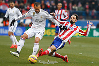 Real Madrid's spanish Jese and Atletico de  Madrid´s spanish JuanFran