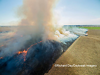 63863-02818 Prescribed Burn by IDNR Prairie Ridge State Natural Area Marion Co. IL