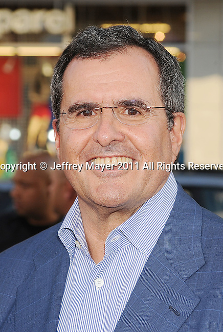 "HOLLYWOOD, CA - JULY 28: Peter Chernin arrives at the ""Rise Of The Planet Of The Apes"" Los Angeles Premiere at Grauman's Chinese on July 28, 2011 in Hollywood, California."