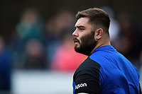 Will Vaughan of Bath Rugby looks on during the pre-match warm-up. Pre-season friendly match, between Edinburgh Rugby and Bath Rugby on August 17, 2018 at Meggetland Sports Complex in Edinburgh, Scotland. Photo by: Patrick Khachfe / Onside Images