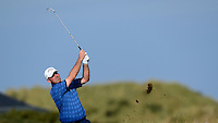 Thomas Bjorn of Denmark in action during Round 3 of the 2015 Alfred Dunhill Links Championship at the Old Course, St Andrews, in Fife, Scotland on 3/10/15.<br /> Picture: Richard Martin-Roberts | Golffile