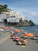 A Day at the Beach, Amalfi