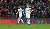 Dejection for Burnley's Ben Mee after his side went 1-0 down<br /> <br /> Photographer Rob Newell/CameraSport<br /> <br /> The Premier League - Saturday 1st December 2018 - Crystal Palace v Burnley - Selhurst Park - London<br /> <br /> World Copyright &copy; 2018 CameraSport. All rights reserved. 43 Linden Ave. Countesthorpe. Leicester. England. LE8 5PG - Tel: +44 (0) 116 277 4147 - admin@camerasport.com - www.camerasport.com