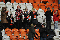 Blackpool fans applaud their team at the final whistle <br /> <br /> Photographer Kevin Barnes/CameraSport<br /> <br /> Emirates FA Cup Second Round - Blackpool v Maidstone United - Sunday 1st December 2019 - Bloomfield Road - Blackpool<br />  <br /> World Copyright © 2019 CameraSport. All rights reserved. 43 Linden Ave. Countesthorpe. Leicester. England. LE8 5PG - Tel: +44 (0) 116 277 4147 - admin@camerasport.com - www.camerasport.com