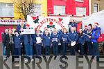 Carol Singing: Pupils from Listowel Community College Carol singing in the Square, Listowel on Friday morning last.