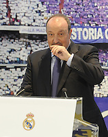 Rafael Benitez, New Coach Real Madrid