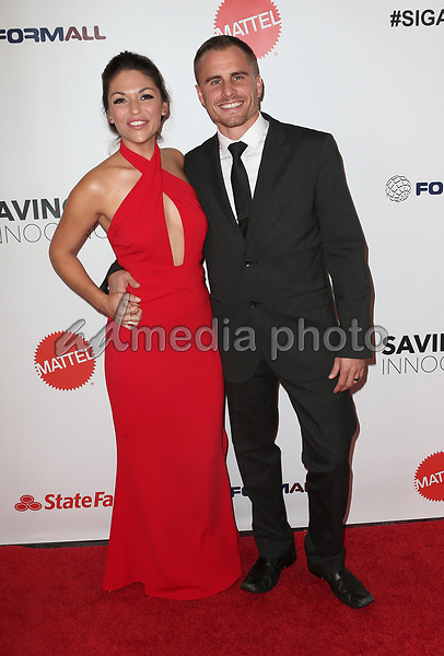 30 September 2017 - Los Angeles, California - Deanna Stagliano, Stephen Stagliano. 6th Annual Saving Innocence Gala held at Loews Hollywood Hotel. Photo Credit: F. Sadou/AdMedia
