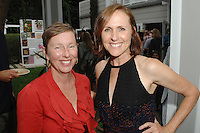Christine Nichols, Molly Shannon==<br /> LAXART 5th Annual Garden Party Presented by Tory Burch==<br /> Private Residence, Beverly Hills, CA==<br /> August 3, 2014==<br /> ©LAXART==<br /> Photo: DAVID CROTTY/Laxart.com==