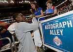 "LOS ANGELES, CA - MARCH 12:  ""One Day One Game"" Darren Collison #2 of the Los Angeles Clippers signs autographs before the game against the Golden State Warriors during their NBA Game at the Staples Center  on March 12, 2014 in Los Angeles, California.  (Photo by Donald Miralle for ESPN the Magazine)"