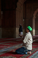 New Delhi India the Jama Masjid Mosque in Old Delhi