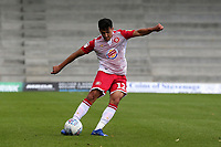 Noor Husin of Stevenage during Stevenage vs Exeter City, Sky Bet EFL League 2 Football at the Lamex Stadium on 10th August 2019