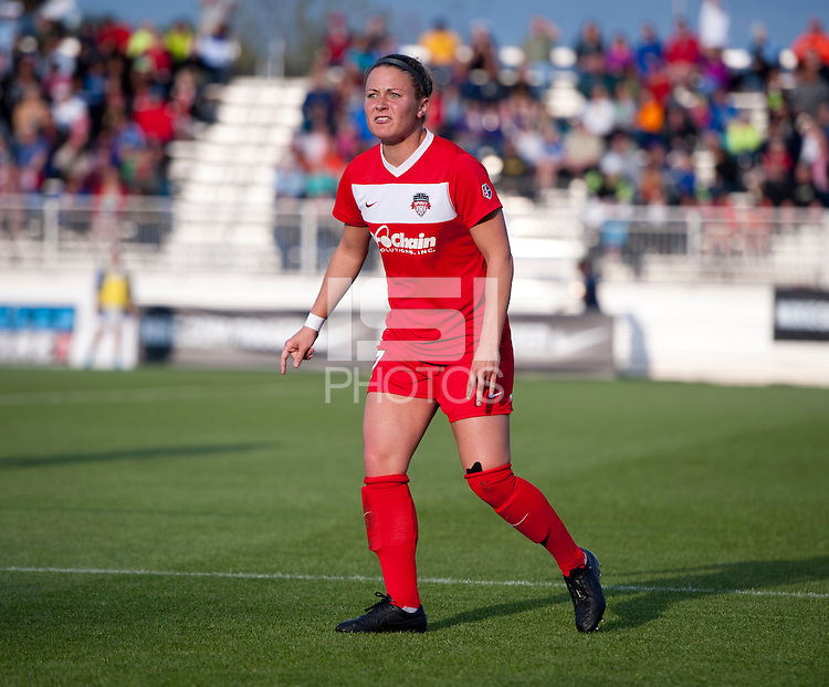 Boyds, MD - May 3, 2014: Seattle Reign FC defeated the Washington Spirit 2-1 during their NWSL match at the Maryland SoccerPlex.
